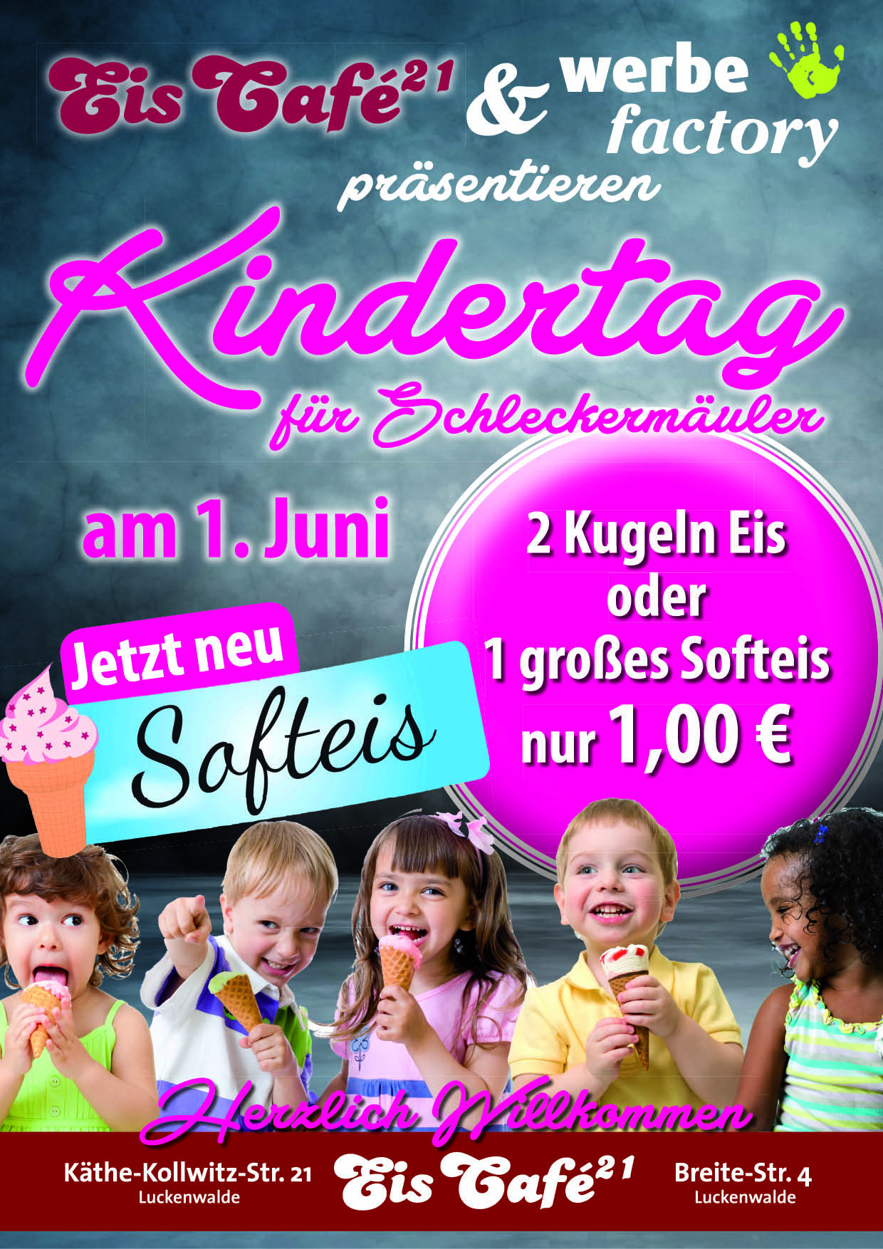 Plakat Kindertagaktion